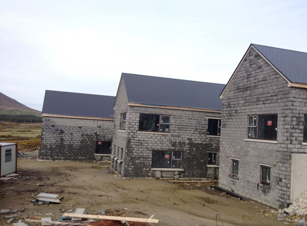 adventure centre for achill surf being built