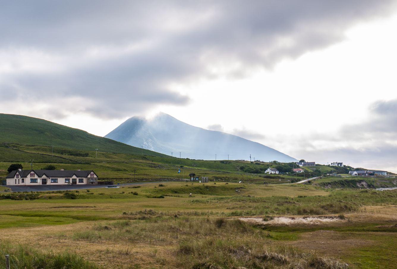 Golden Strand, Achill Island, Ireland in summer
