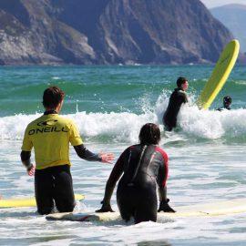Surf Lessons Keel Beach
