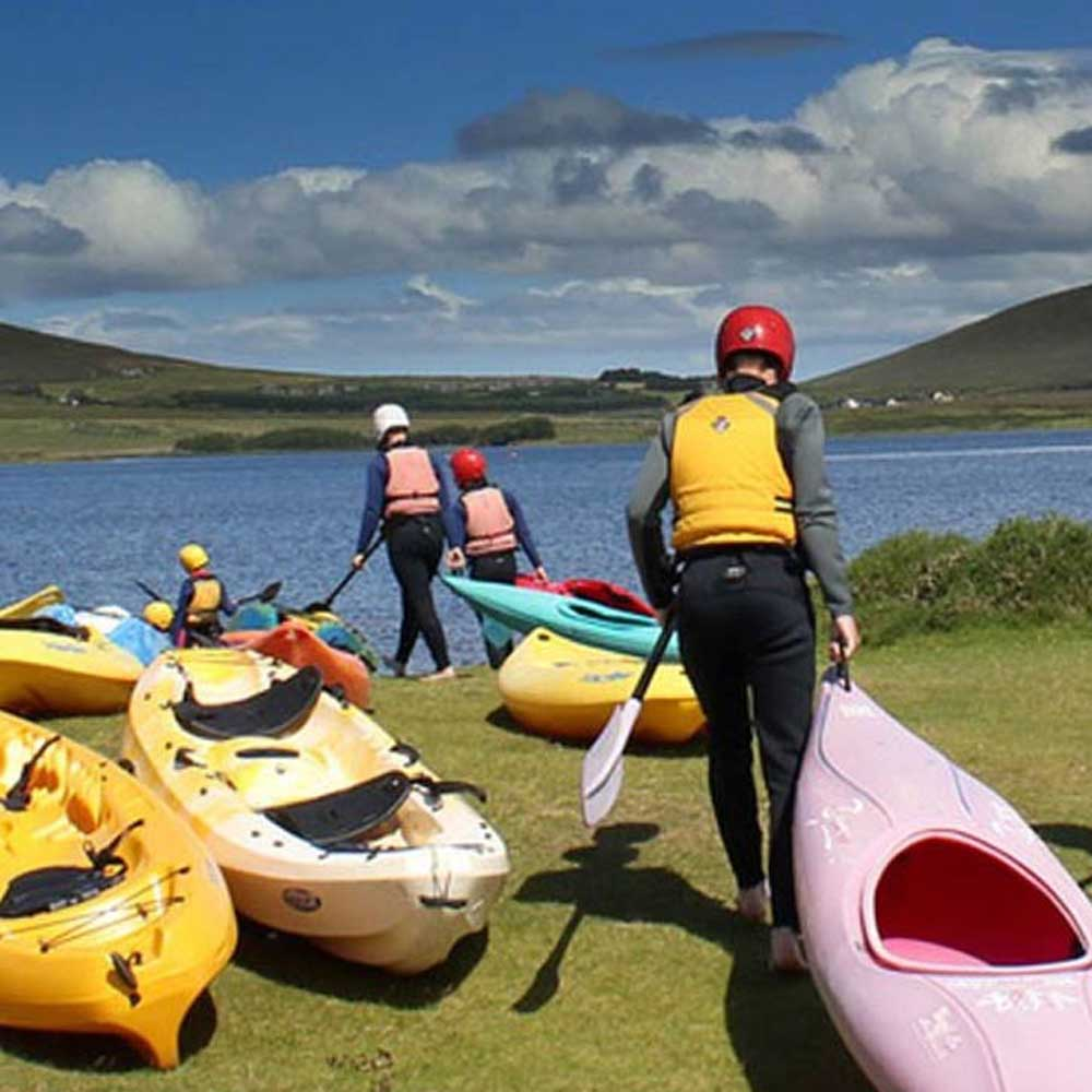 Kayaking on Achill