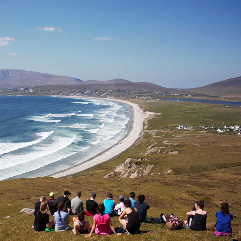 Hill Walking and Mountaineering On Achill Island